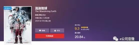 影视股上演冰火两重天:《流浪地球》带动北京文化狂欢 光线传媒大跌! 中国金融观察网www.chinaesm.com