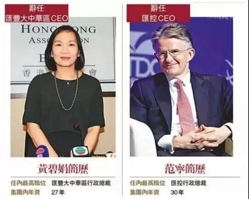 暴风眼上的汇丰银行突然澄清!两核心高管离职并非外部施压?大股东中国平安也最新回应,真相到底如何 中国金融观察网www.chinaesm.com